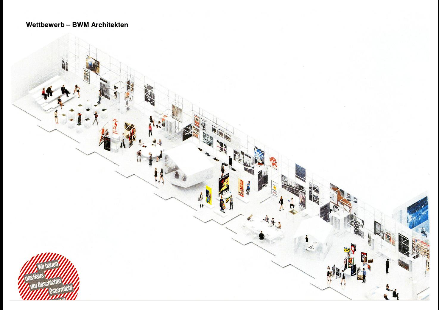 Modell                 der Ausstellung