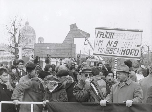 Anti-Wahldheim-Demonstration 1986