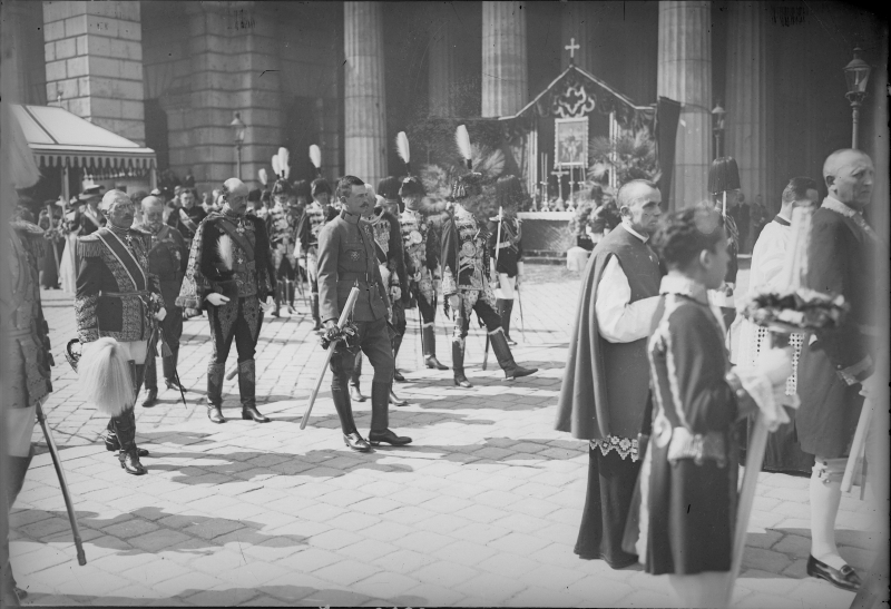 Fronleichnamsproession am 30. 5. 1918