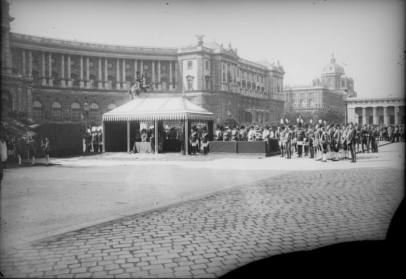 Fronleichnamsprozession am 30. 5.1918